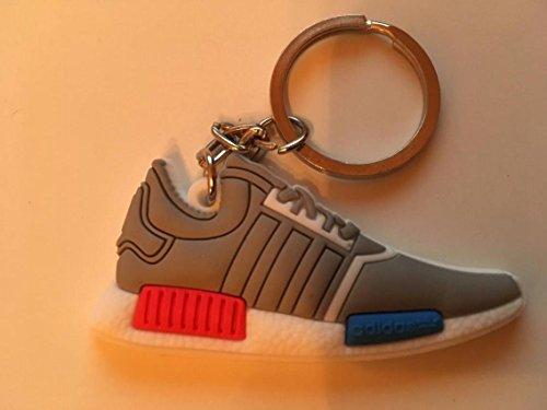 Preisvergleich Produktbild Adidas NMD Schlüsselanhänger Grau Blau Sneaker Keychain