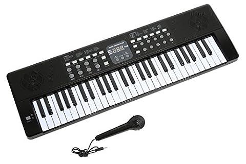 Axman T315853 Clavier avec Microphone et Connecteur d'alimentation/54 touche/Batterie 6 x AA (non inclus)