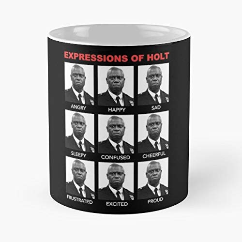 Raymond Holt Brooklyn Nine 99 Jake Peralta - Best Gift Mugs Amy Santiage Tv Funny Geeky Nerdy New York Police Procedural Best Personalized Gifts