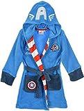 Marvel Jungen Bademantel * One Size Gr. 6 Jahre, blau