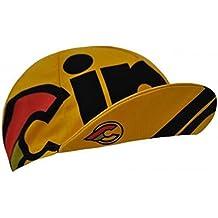 Cinelli Cap Vintage bicicletta Rider cappelli tappi i ciclisti Fixie Retro, ridercaps, stile Nemo TIG giallo - Bicicletta Cap