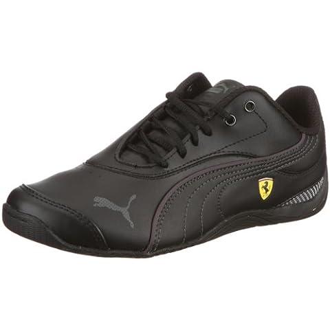 B003UTUU1W - Puma Drift Cat III L SF Jr - Chaussures de sport lifestyle Junior - Blanc - Noir, 33 EU