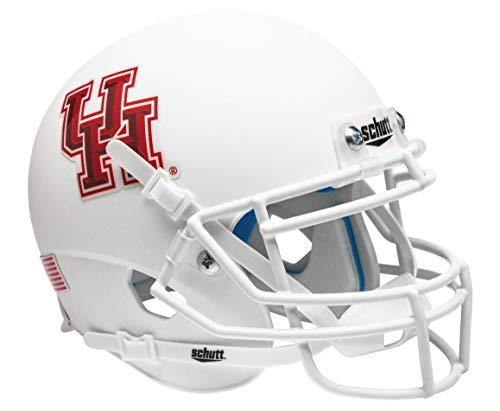 Schutt NCAA Houston Cougar Mini Helm, eine Größe, weiß
