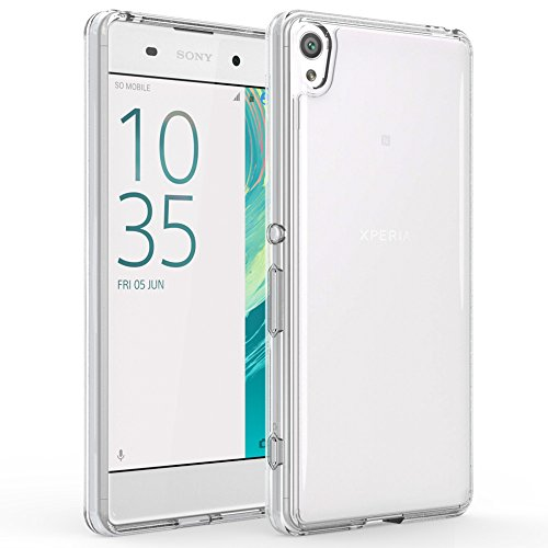 sony-xperia-xa-case-clear-hybrid-scratch-resistant-slim-hard-back-panel-cover-with-clear-silicone-ge