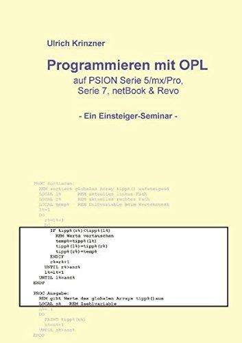 Programmieren mit OPL PDF Download