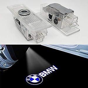 HConce Autotür Einstiegsbeleuchtung Tür Licht Logo Projektor Licht Logo Leuchten 2 Stück
