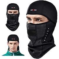 KING BIKE Pasamontañas Balaclava Máscara Bufanda Prueba de Viento Elásticos en Tejido para Ciclismo Esqui Moto Mujere y Hombre (L/XL)