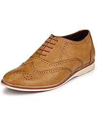 Fentacia Tan Brogue Casual Shoe
