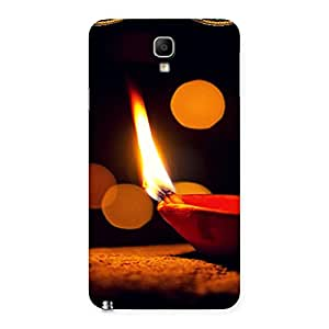 Positive Light Back Case Cover for Galaxy Note 3 Neo
