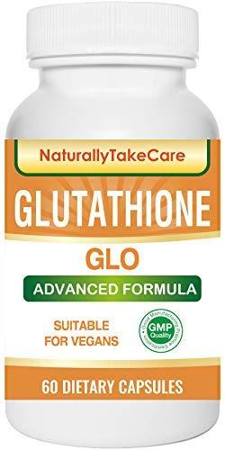 Glutathione Skin whitening supplement Antioxidant Anti-aging Reduce dark spots Healthy detoxification - Maximum strength 500 MG