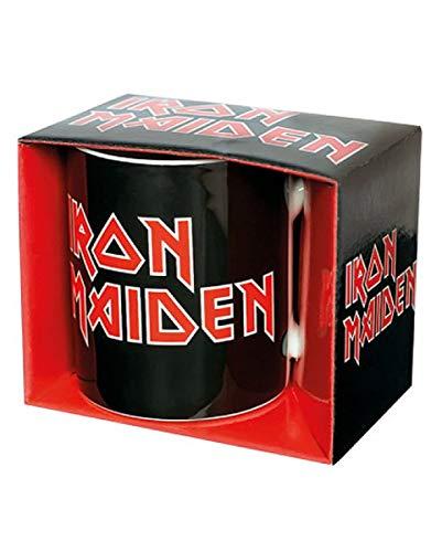 Horror-Shop Iron Maiden Logo Tasse für Fans & Sammler