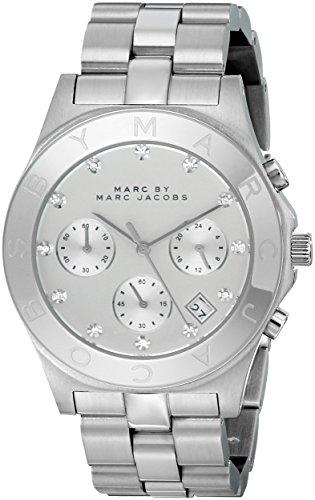 Marc Jacobs MBM3100–Montre Bracelet pour Femme, Bracelet en Acier Inoxydable