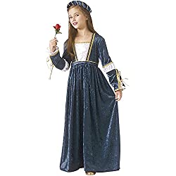 Rubies - Disfraz de Julieta, para niñas, talla M (67196-M)