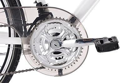 KS Cycling Damen Canterbury RH 54 cm Flachlenker Trekkingrad, Schwarz, 28