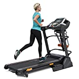 Klarfit Highflyer FX2 • Tapis de Course à Suspension innovante •...