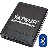 Yatour - Adattatore per autoradio con interfaccia USB, SD, AUX, MP3 con dispositivo vivavoce Bluetooth per BMW, anche ni nuova generazione: Z4 E85 prima del Facelift (ecetto 16:9, Basis CD e DSP), E39 Facelift (eccetto 16:9, Reverse e DSP), E53 X5 (eccetto 16:9, DSP), E83 X3 prima del Facelift (eccetto 16:9), E38 radio di nuova generazione (eccetto 16:9, Reverse, DSP), MINI R50 R53 solo Boost e Harman Kardon