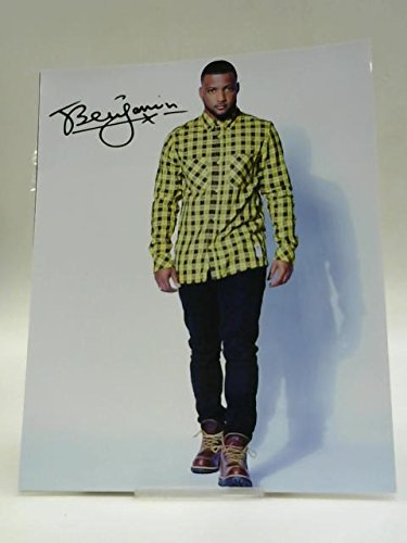 Signed Photo Of Benjamin From JLS