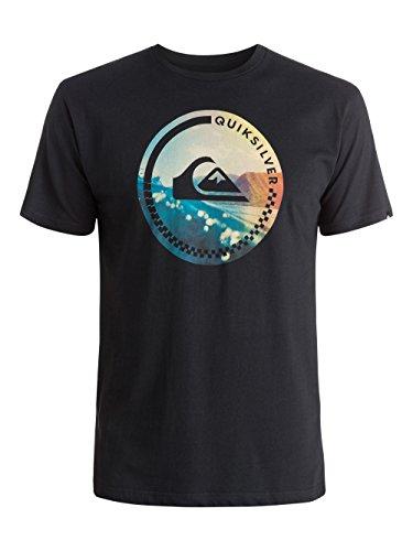Quiksilver -  T-shirt - Maniche corte  - Uomo Nero  nero X-Small