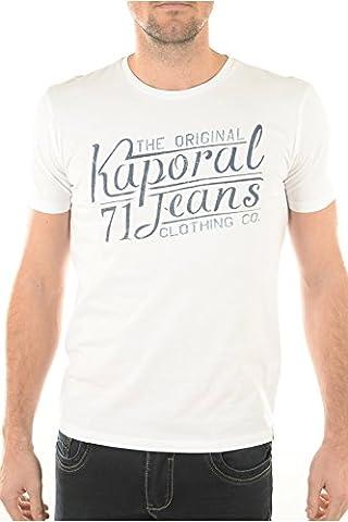 XXL tee shirt kaporal terov blanc
