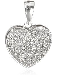 Carissima Gold - Pendentif - 5.61.166G - Femme - Or blanc (9 carats) 1.4 Gr - Diamant