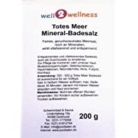 Muerto Mar Mineral Sales de baño im 200 g Bolsa - 100% genuino Sal