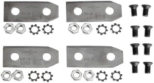 Gardena 4099-20 Ersatzmesser für Gardena Hattrick-Mulchcut-Modelle, 1 Satz