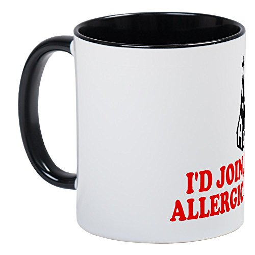 CafePress Atheist Slogan Tasse Kaffee Tee Tasse Small White/Black Inside