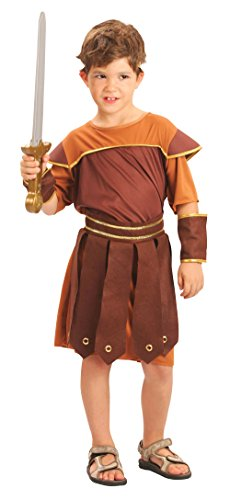 Roman Soldier Large costume Kids Fancy (Hercules Outfit)