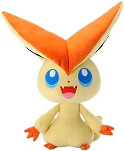 Pokemon Best Wishes Plüsch Puppe TakaraTomy–Giant 45,7cm Victini