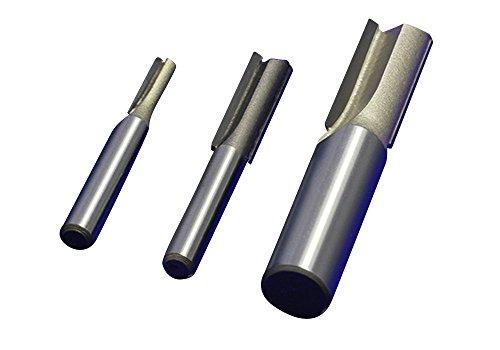 SHINA Lange gerade zweischneidige Messer Gravur Werkzeugmaschine Trimm Holzfäller groovende Werkzeugelektro Oberfräsen Hartmetall Fräser Holzfräser Nutfräsen (Schneidelänge26 Schneidebreite8)