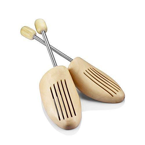 Logei® 1 par alta calidad caracol madera hormas zapatos