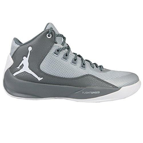competitive price b6517 72bdf Nike Men's Jordan Rising High 2 Basketball Shoes, Gris (Wolf ...