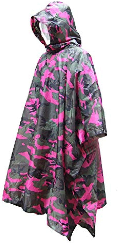 bba14e8e8df2 Wagsiyi Wagsiyi Wagsiyi Poncho Giacca Impermeabile da Pioggia da Donna