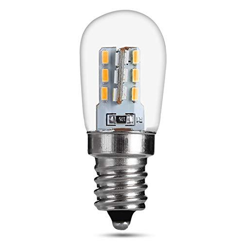 PIONIN Geführte Dunstabzugshauben-Glühlampe des Kühlschrank-Licht-220v 3014 mit Halter des Licht-E12 für Kühlschrank, Küche Ventilato
