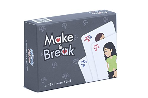 Moody Macaw Make & Break Card Game: An Adult Party Game (17+ Years)