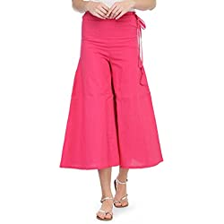 Jompers Khadi Solid Palazzo Pant For Women's Available in various Colour Options