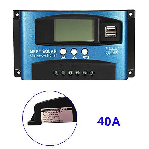 Fishyu 40A-100A MPPT Solarpanel Regler Laderegler 12 V / 24 V Autofokus Tracking Device