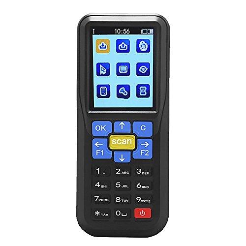 Scanner di codici a barre wireless e dispositivo di inventario per codici a barre portatile dispositivo di scansione di codici a barre usb con schermo lcd a colori