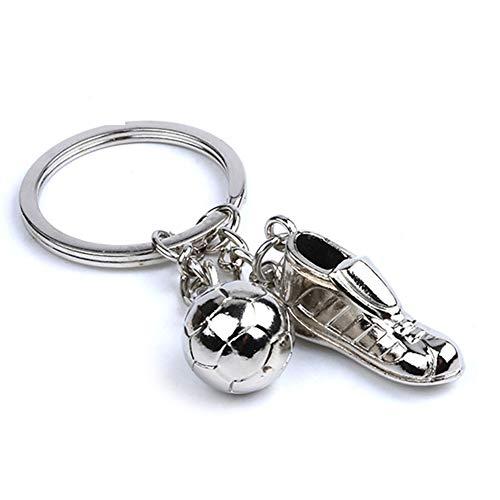 Sport-Anhänger Schlüsselanhänger Metall Schlüsselanhänger Kreative Schlüsselanhänger für Jungen und Mädchen ()