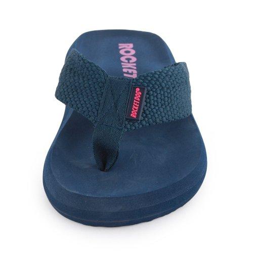 Rocket Dog Sunset femmes Flip Flops Bleu - Bleu marine