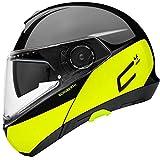 SCHUBERTH C4 Pro Swipe Amarillo Modulares Casco De Motocicleta Tamano L