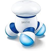 Sanitas SMG 11 Mini-Massager - Vibrationsmassage Zuhause und unterwegs, für Rücken, Nacken, Arme, Beine