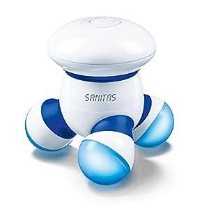Sanitas Smg 11 Mini Massager Vibrationsmassage Zuhause Und Unterwegs Fr Rcken Nacken Arme Beine