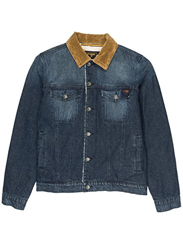 Billabong Barlow Trucker, Jacke Herren indigo deep sea