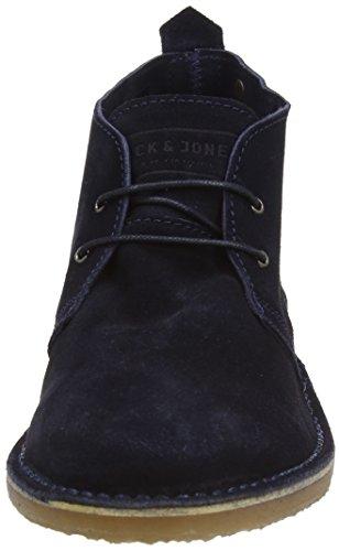 JACK & JONES Herren Gobi Kurzschaft Stiefel Blau (Navy Blazer)