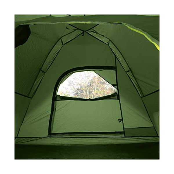 Qisan Hydraulic Dome Tent Canopy for Camping Automatic Waterproof Tents 3-4 Person Canopy Easy to Set up and package