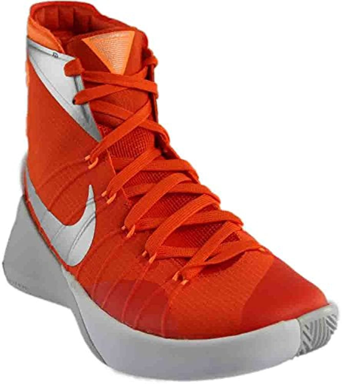 Nike Mens Hyperdunk 2015 TB Basketball Shoes, Orange Blaze/Metallic Silver-bright Citrus, 45.5 D(M) EU/10.5 D(...