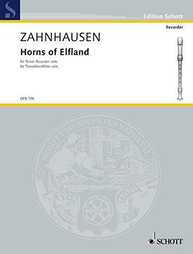 Horns of Elfland: Tenor-Blockflöte. (Edition Schott)