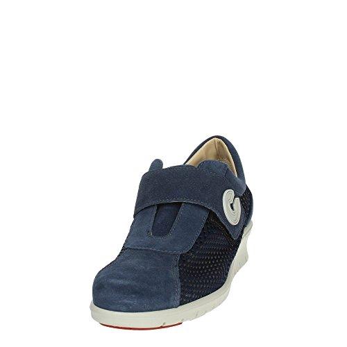 Baskets Cinzia Soft 9844 Low Femme Bleu