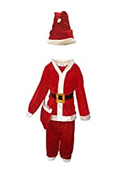 KFD Kids Santa Clause Christmas day Costume & fancy dress